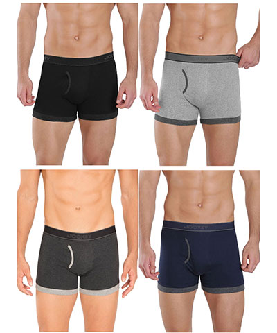Jockey Boxer Trunk 1017 Assorted Pack Of 4