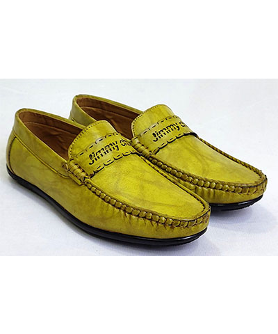 FAS10 Men Loafer Shoes Jimmy Yellow
