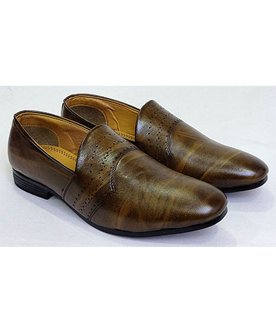 FAS10 Men Loafer Shoes Jimmy Brown