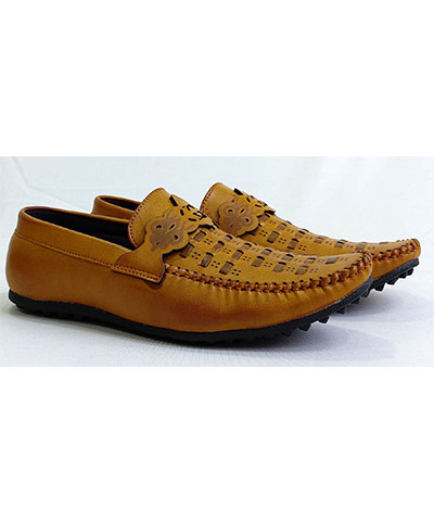 FAS10 Men Loafer Shoes Steam Camel RS999