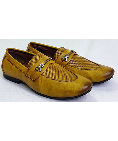 FAS10 Men Loafer Shoes Steam Camel