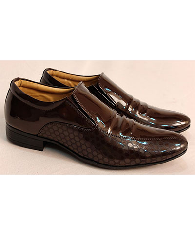 FAS10 Men Formal Shoes Success Brown