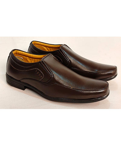 FAS10 Men Formal Shoes TS 1039 Brown
