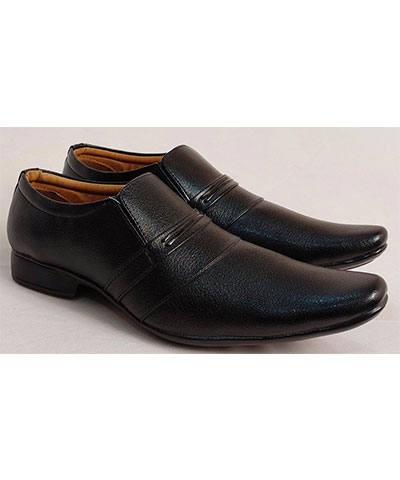 FAS10 Men Formal Shoes TS505Black