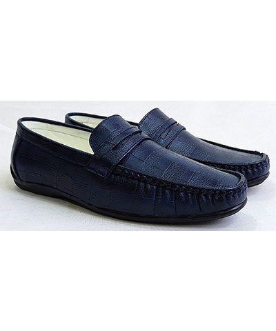 FAS10 Men Loafer Shoes YPC528 Blue