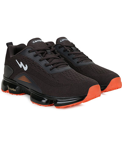 Campus Sports Shoes Diamond Dgrey Orange