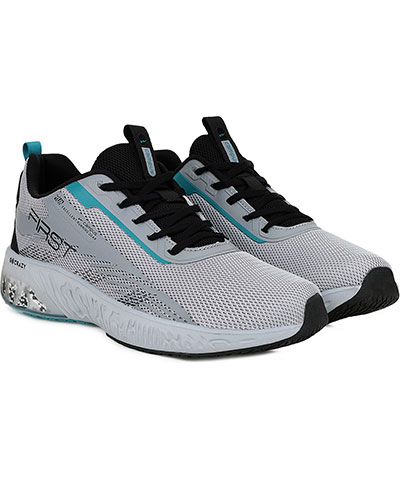 Campus Sports Shoes First Lgrey Black