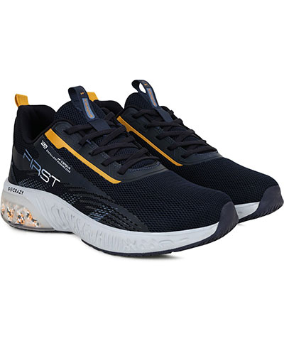 Campus Sports Shoes First Navy Mustard
