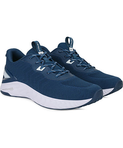 Campus Sports Shoes Fuzion Mblue White