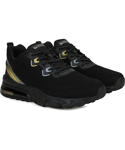 Campus Sports Shoes Gloster Black Golden