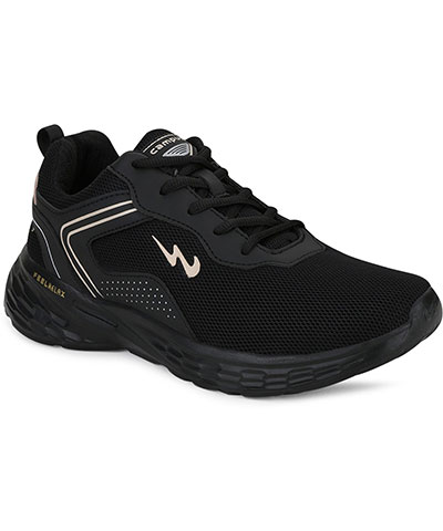 Campus Sports Shoes Kosmo Pro Black Beige
