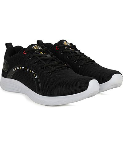 Campus Sports Shoes Marcus Pro Black Mustard
