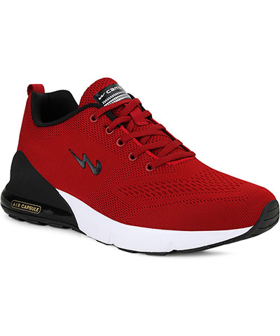 Campus Sports Shoes North Plus Red Black