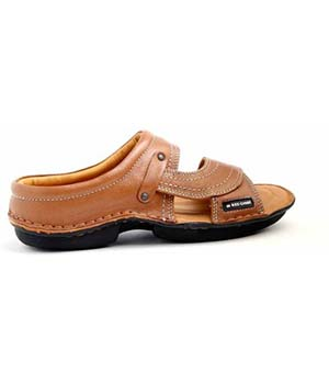 Red Chief RC0248 Leather Sandals-TAN
