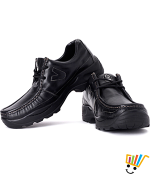 Woodland Outdoor Shoes Black 4035