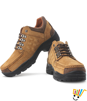 Woodland Outdoor Shoes Camel 4092
