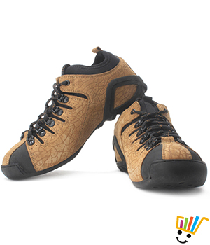 Woodland Outdoor Sneakers Camel WDL0065