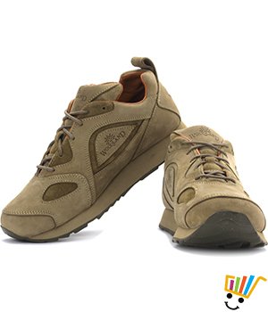 Woodland Outdoor Shoes Khaki 777