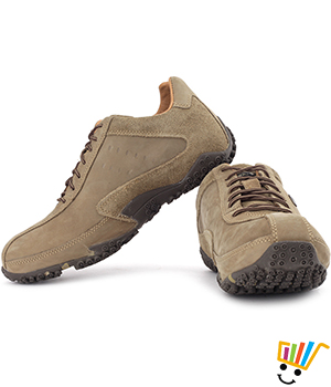 Woodland Outdoor Shoes Khaki 572108