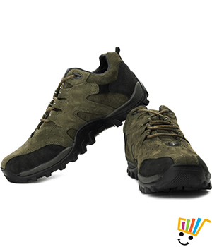 Woodland Outdoor Shoes Green 232106