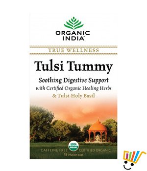 Organic India Tulsi Tummy Tea Pack Of 5