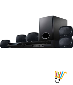 LG HT355SD 5.1 Home Theatre System
