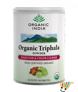 Organic India Triphala Powder 100 Gm