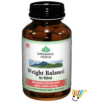 Organic India Weight Balance Capsule Pack Of 5