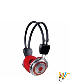Intex Hiphop Wired Headset (Black and Red)