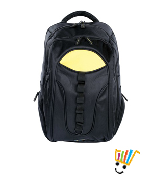 DigiFlip Endure Travel Laptop Backpack LB005 For 15.6 inch Laptop (Black)