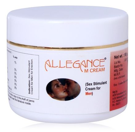 Allegance M Sex Stimulant & Libido Enhancer Cream for male