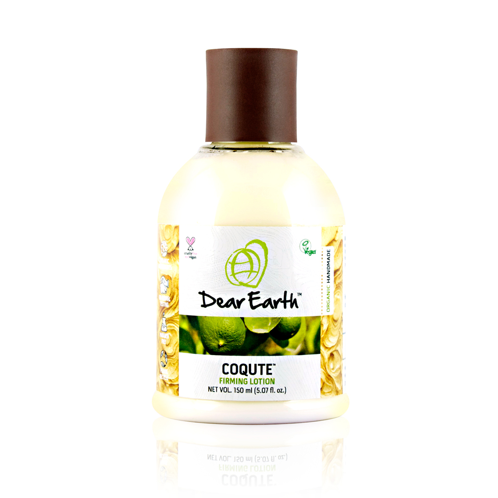 Dear Earth CoQute Firming Organic & Vegan Lotion 150ml