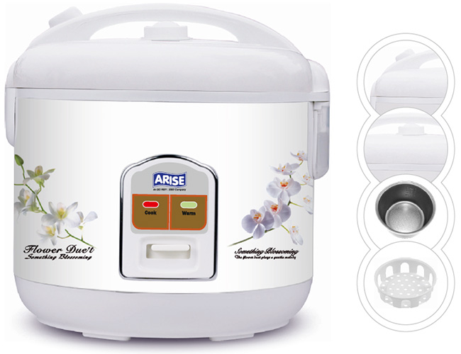 Arise Rice Cooker CFXB60-3A (2.8Ltr/1000W)