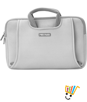 Neopack Handle 15.6 inch Laptop Sleeve (Silver)