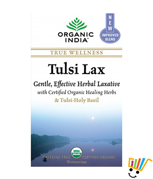 Organic India Tulsi Lax 18 TB Pack of 5