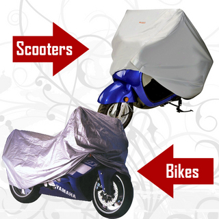 Bike and Scooter Body Cover - Trax Quality (Thicker)
