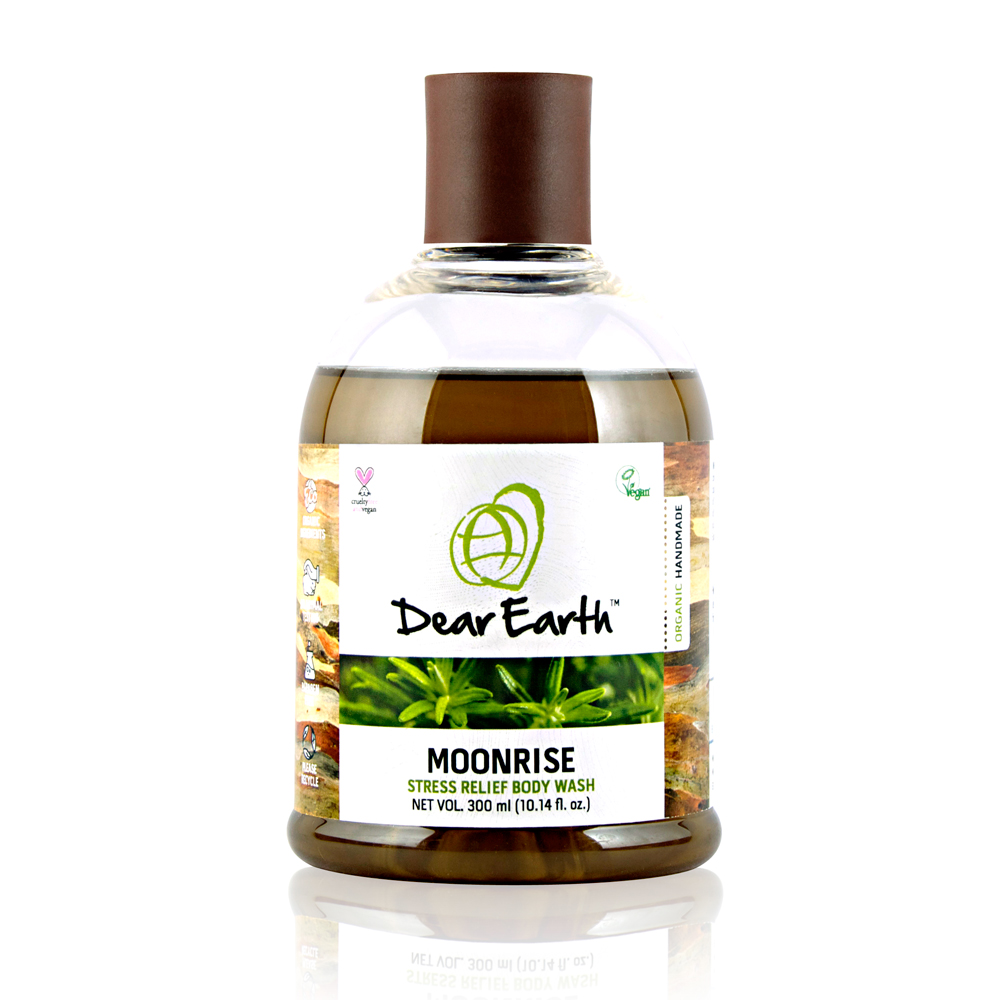 Dear Earth Moonrise Stress Relief Organic & Vegan Body Wash 300ml