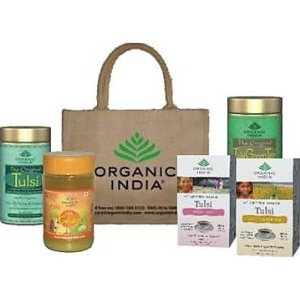 Organic Family Health Pack (Ghee and 4 Packs of Tulsi Tea)