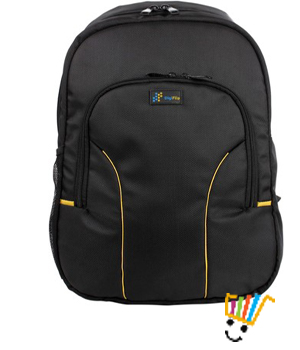 DigiFlip Nano LB007 Laptop Bag For 15.6 inch Laptop Black