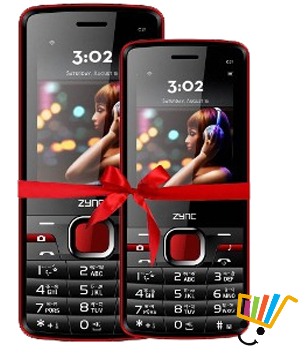 Zync C21+C21 Dual SIM Mobile Combo Offer