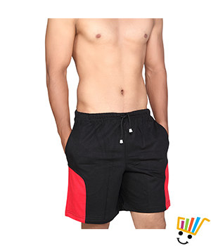 Clifton Mens Shorts - MB04 Black Color