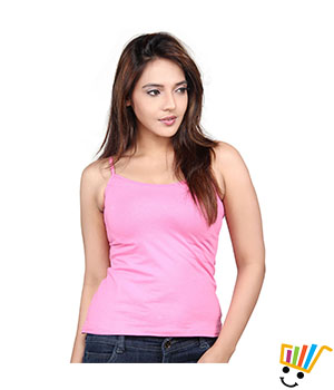 Clifton single strap camisole Pink Color