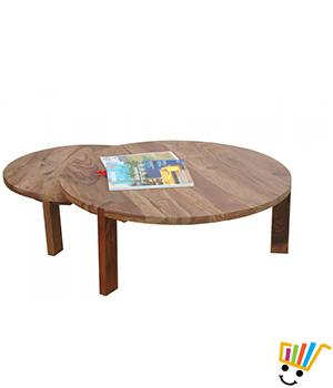 Jeyo Round Coffee Table Set Of 2 - BT0250K