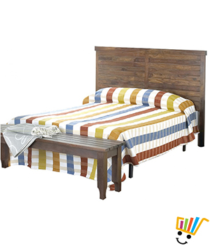 Urban Living Grooved Bed - BT0769C