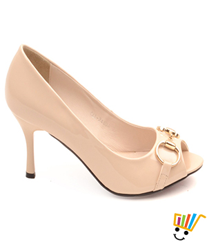 Carlton London Women Nude Coloured Peep Toes CLL-2480 A