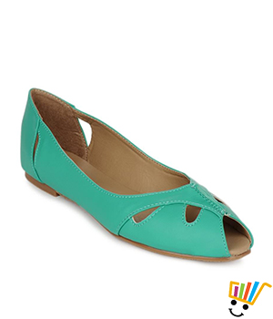 Carlton London Women Turquois Peep Toes CLL-2634
