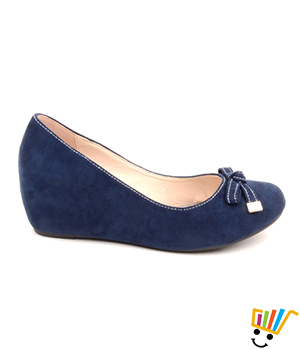 Carlton London Women Navy Wedges CLL-2690
