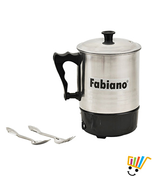 Fabiano Multi Cook Kettle  Silver