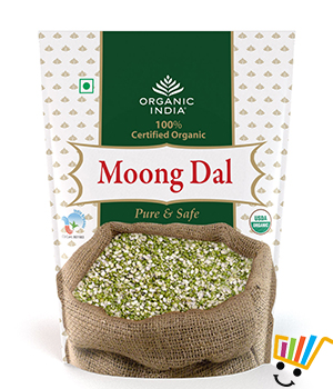 Organic India Moong Bean Dal- Pack Of 2