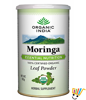 Organic India Moringa 100 Gram Powder